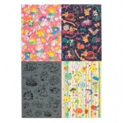 Sticker Wagara 4x Set japan plush