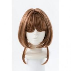 Cosplay Wig Sakura Kinomoto Cardcaptor Sakura Clear Card  japan plush
