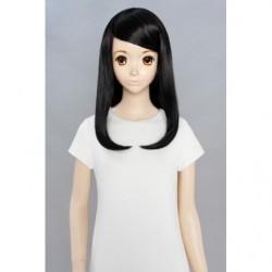 Cosplay Wig Sara Mid Hair Black 01 japan plush