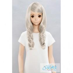 Cosplay Wig Sara Marshmallow Curl Silver 05 japan plush