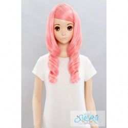 Cosplay Wig Sara Marshmallow Curl Pink 02 japan plush