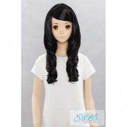 Cosplay Wig Sara Marshmallow Curl Black 01 japan plush