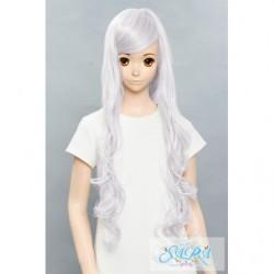 Cosplay Wig Sara Soft Curl Silver 04 japan plush