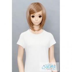 Cosplay Wig Sara Short Bob Brown 03 japan plush