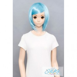 Cosplay Wig Sara Short Bob Blue 06 japan plush