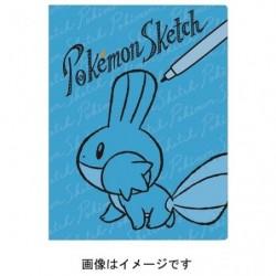 Clear File Pokemon Sketch Mudkip japan plush