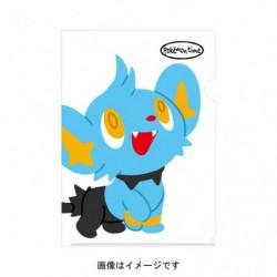 A4 Clear File pokemon time Shinx japan plush