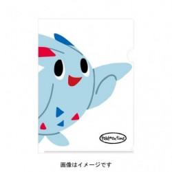 A4 Clear File pokemon time Togekiss japan plush