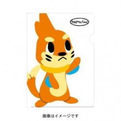 A4 Clear File pokemon time Buizel japan plush