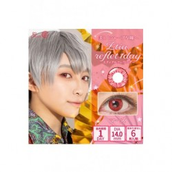 Cosplay Color Lens ETIA REFLET Red japan plush