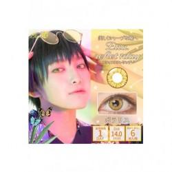 Cosplay Color Lens ETIA REFLET Gold japan plush