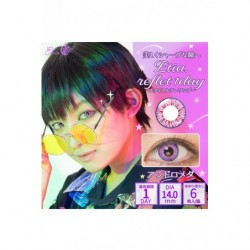 Cosplay Color Lens ETIA REFLET Purple japan plush