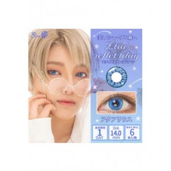 Cosplay Color Lens ETIA REFLET Blue japan plush