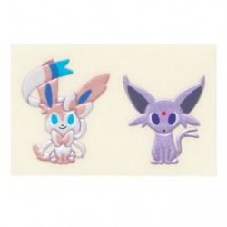 Gold Card pokemon time EIEVUI COLLECTION Espeon & Sylveon japan plush
