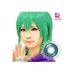 Cosplay Color Lens TWIN LOOP Blue Rock japan plush