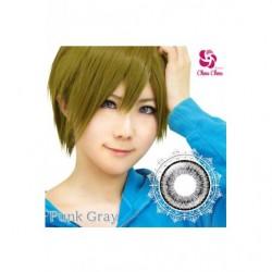 Cosplay Color Lens TWIN LOOP Gray Punk japan plush