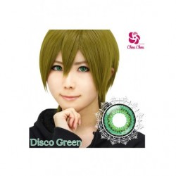Cosplay Color Lens TWIN LOOP Green Disco japan plush