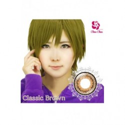 Cosplay Color Lens TWIN LOOP Brown Classic japan plush