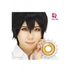 Cosplay Color Lens SHINY EDGE Yellow Dandelion japan plush