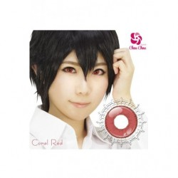 Cosplay Color Lens SHINY EDGE Red Coral japan plush