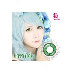 Cosplay Color Lens ICE FLORA Green Vodka japan plush