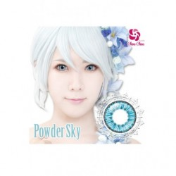Cosplay Color Lens ICE FLORA Blue Sky japan plush