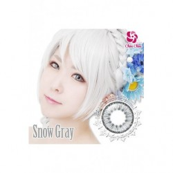 Cosplay Color Lens ICE FLORA Gray Snow japan plush