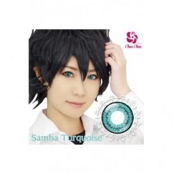 Cosplay Color Lens SHINY EDGE Turquoise Samba japan plush