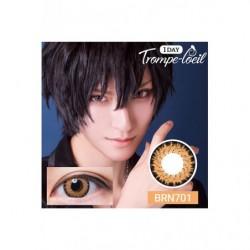 Cosplay Color Lens TROMPE LOEIL Bronze japan plush