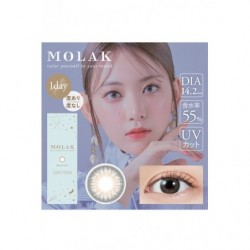 Cosplay Color Lens MOLAK Light Gray japan plush