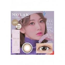 Cosplay Color Lens MOLAK Beige japan plush