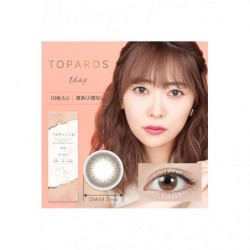 Cosplay Color Lens TOPARDS Yellow Opal japan plush