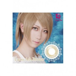 Cosplay Color Lens MINE COLOR Brown Ash japan plush