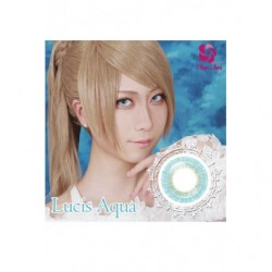 Cosplay Color Lens MINE COLOR Blue Aqua japan plush