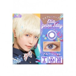 Cosplay Color Lens ETIA GELEE Purple Prune japan plush