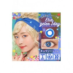 Cosplay Lentille Couleur ETIA GELEE Bleu Curacao japan plush