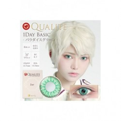 Cosplay Color Lens QUALITE Light Green japan plush