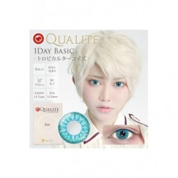 Cosplay Color Lens QUALITE Turquoise japan plush