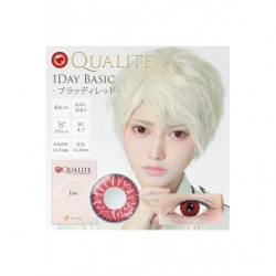 Cosplay Color Lens QUALITE Red japan plush