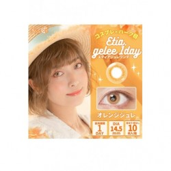 Cosplay Color Lens ETIA GELEE Orange japan plush