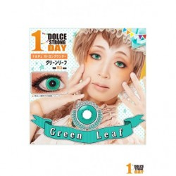 Cosplay Color Lens DOLCE STRONG Green Leaf japan plush