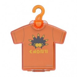 Die-cut memo T-shirt orange japan plush