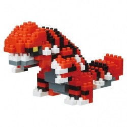 Nanoblock Groudon japan plush