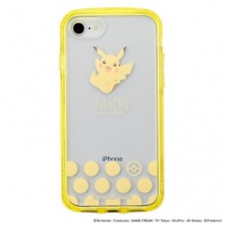Smartphone Cover Pikachu Clear japan plush