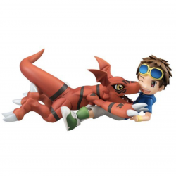 Figure Guilmon & Keito Matsuda Digimon G.E.M Series japan plush
