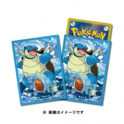 Card Sleeves Blastoise Premium japan plush