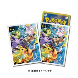 Card Sleeves Eevee Dash Premium japan plush