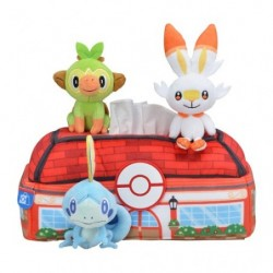 Tissue Box Cover Pokémon Galar Tabi japan plush