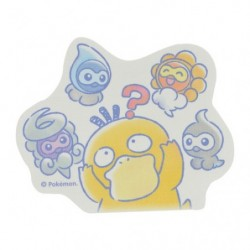 Sticker Psyduck Castform Rain japan plush