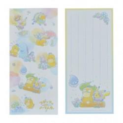 Note Psyduck Rain japan plush